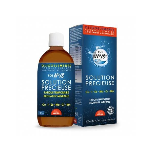 Solution précieuse 200 ml (POE N°18) - Bioligophyt