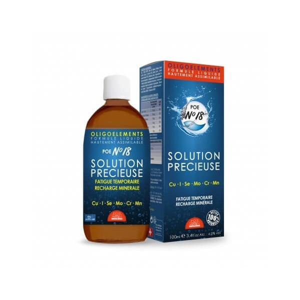 Solution précieuse 100 ml (POE N°18) - Bioligophyt