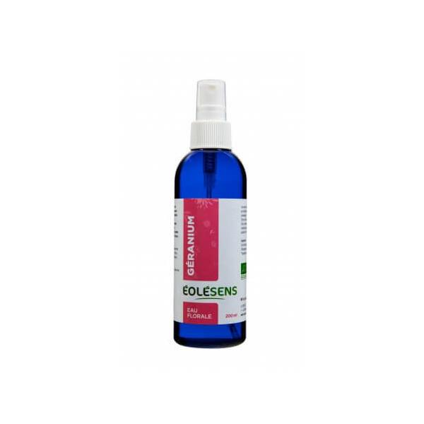 Hydrolat de Géranium Rosat (Eau florale) Bio 200 ml - Eolesens