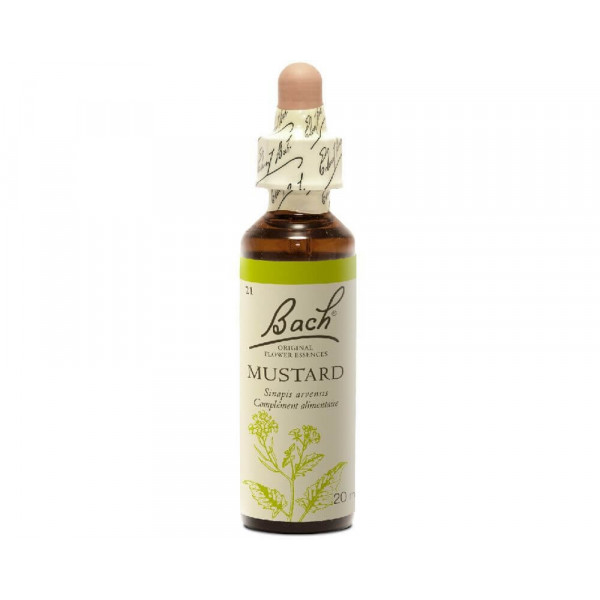 Mustard 20 ml - N° 21 Bach original