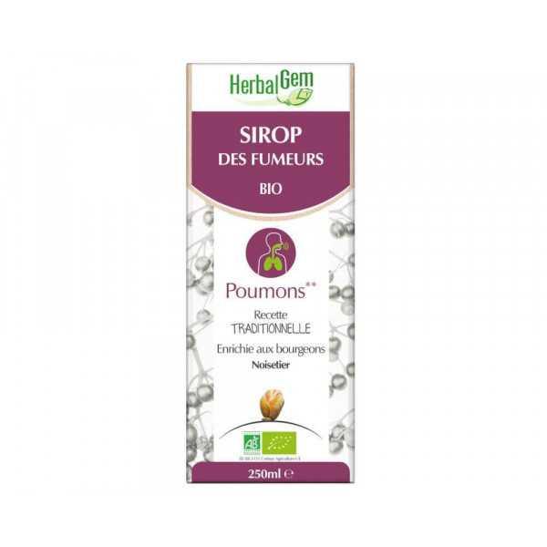 Sirop des Fumeurs Bio 250 ml - Herbalgem