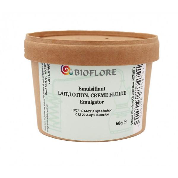 Emulsifiant pour lait lotion et crème fluide 50 gr - Bioflore