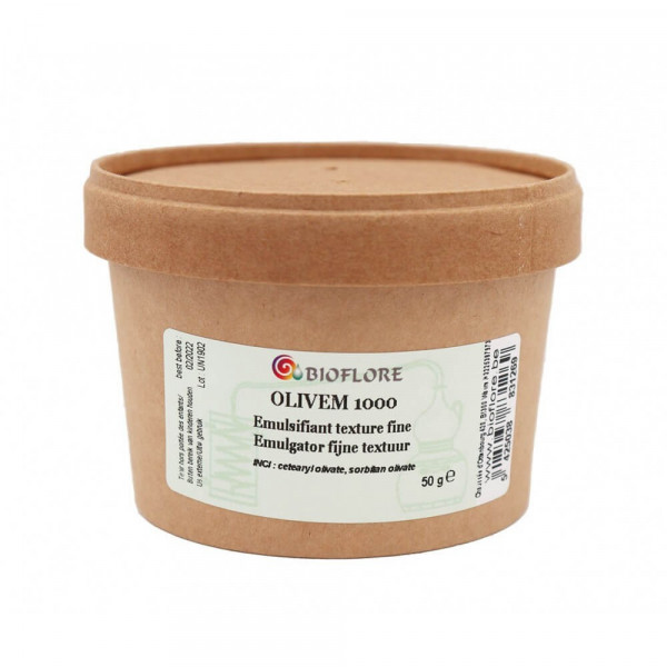 Emulsifiant pour crème fine et pénétrante 50 gr - Bioflore