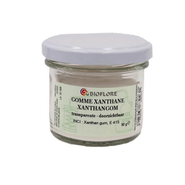 Gomme Xanthane transparente en poudre 50 gr - Bioflore