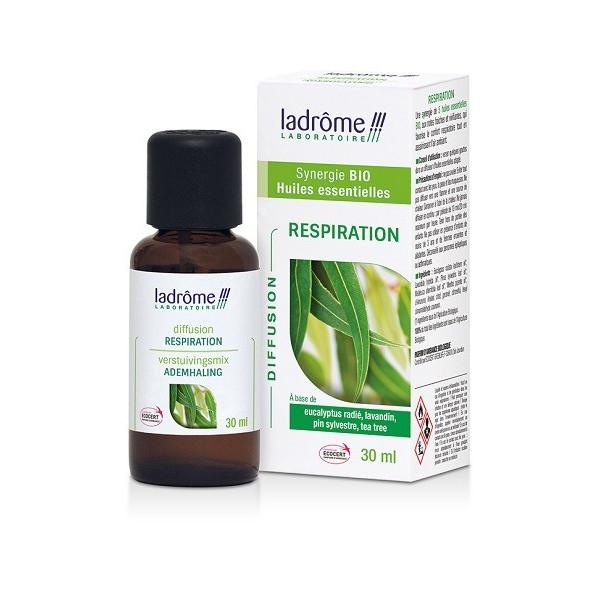 Respiration - Synergie 100% Huiles essentielles Bio 30 ml - Ladrôme