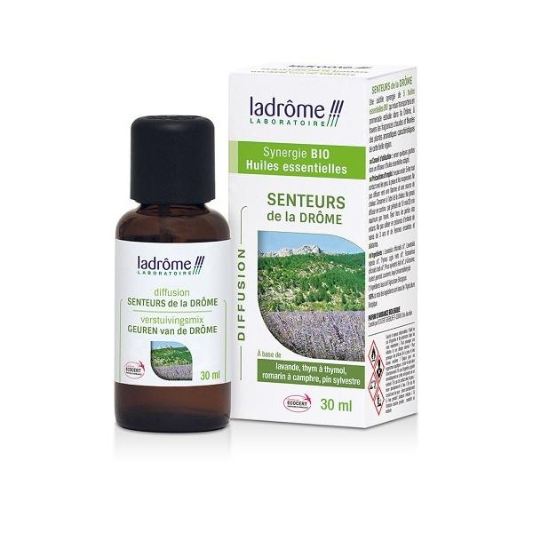 Senteurs de la Drôme - Synergie 100 % Huiles essentielles Bio 30 ml - Ladrôme