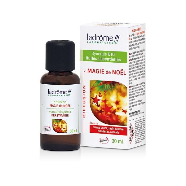 Synergie d'Huiles essentielles Bio Magie de Noël 30 ml - Ladrôme