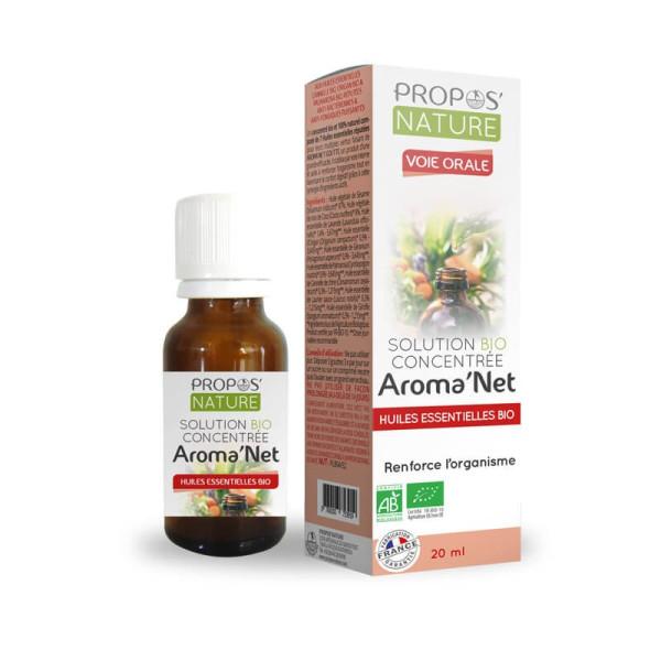 Solution concentrée Aroma'net voie orale 20 ml Bio - Propos'Nature