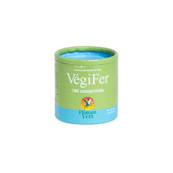Végifer 180 comprimés de 500 mg - Flamant Vert