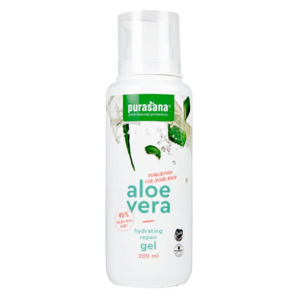 Aloe vera Gel réparateur et hydratant 200 ml BIO - Purasana