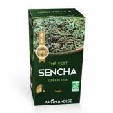 Thé Vert Sencha 18 sachets BIO - Aromandise
