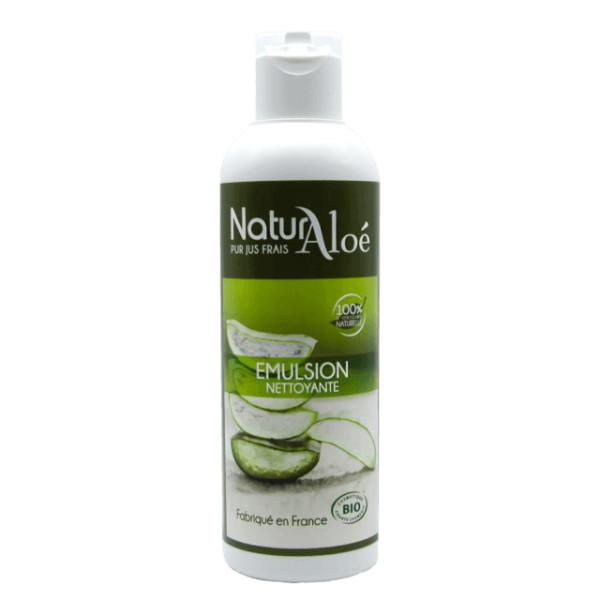 Emulsion nettoyante Aloé vera BIO 200 ml - Natur Aloé