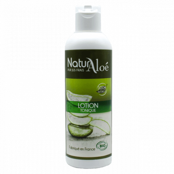 Lotion tonique Aloe vera BIO 200 ml - Natur Aloé