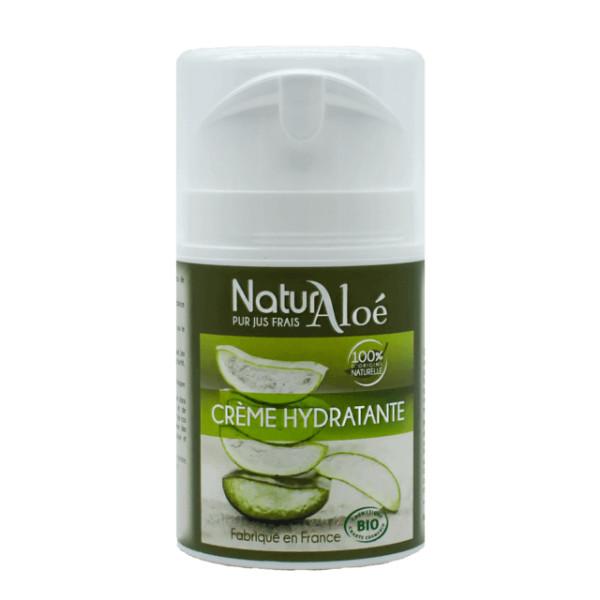 Crème hydratante Aloé vera BIO 50 ml - Natur Aloé