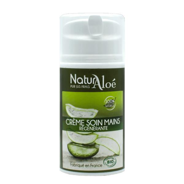 Crème soin des mains Aloé vera BIO 50 ml - Natur Aloé