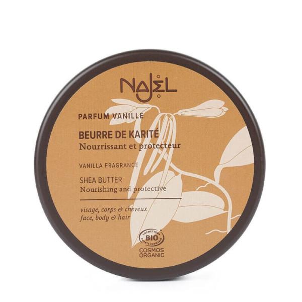 Beurre de Karité à la vanille 100 gr BIO - Najel