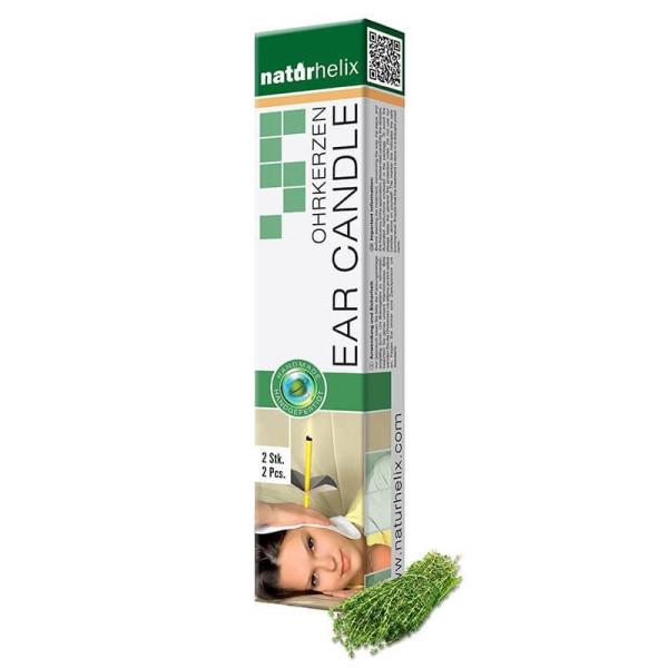 Bougies d'oreilles Eucalyptus 2 pièces BIO - Naturhelix