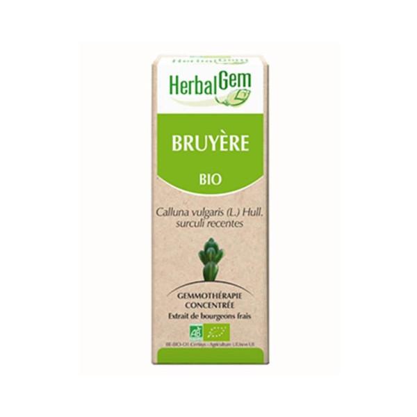 Bruyère bourgeon Bio - Calluna vulgaris Macérat - 50 ml - Herbalgem