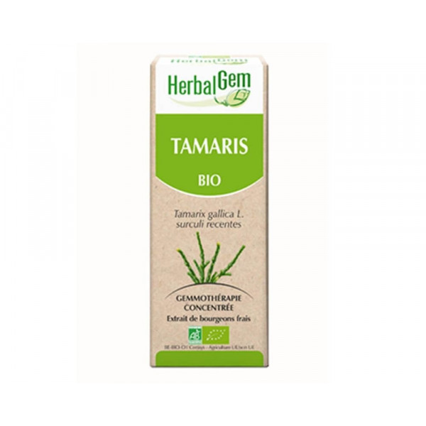 Tamaris bourgeon Bio -Tamarix gallica Macérat - 50 ml - Herbalgem