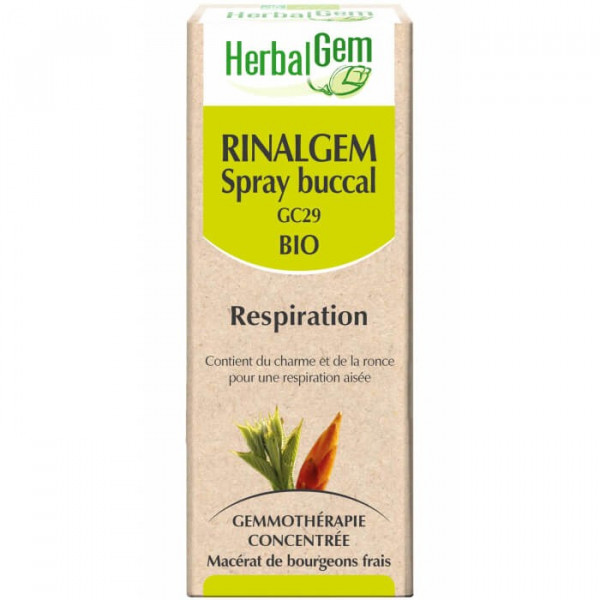 Rinalgem Spray buccal 10 ml Bio - Herbalgem - GC29