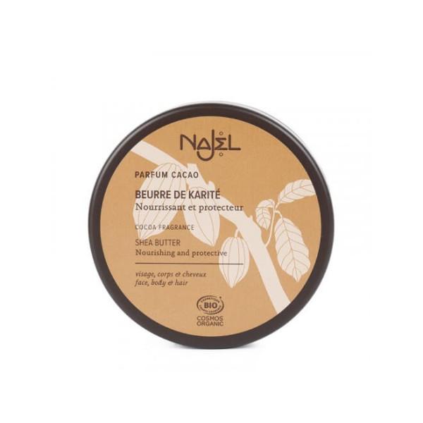 Beurre de Karité au cacao 100 gr BIO - Najel