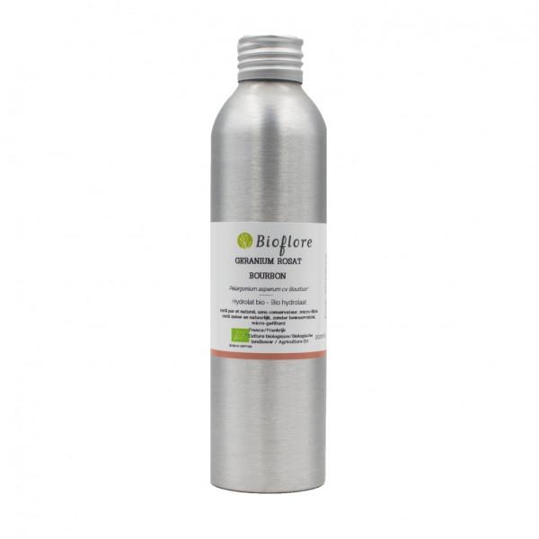 Hydrolat de Géranium bourbon rosat BIO 200 ml - Bioflore