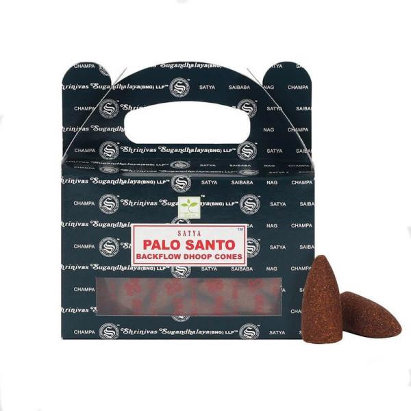 Encens en cône - Nag Champa Palo Santo 75 gr - Satya