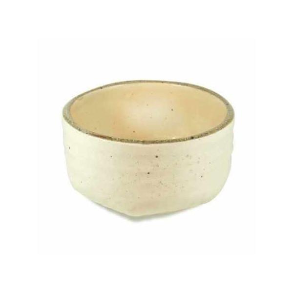 Bol en grès blanc pour la cérémonie du thé