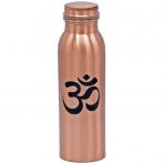Bouteille en cuivre OM imprimé - 750 ml - Yogi & Yogini