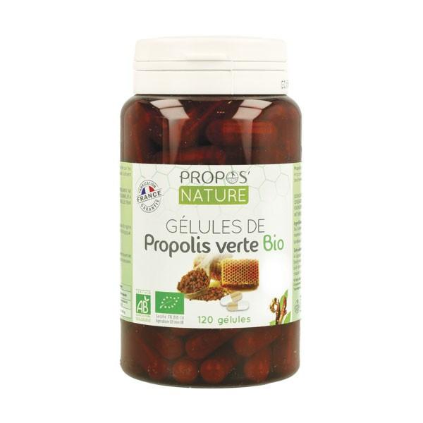 Propolis Verte Bio 120 gélules - Propos' Nature