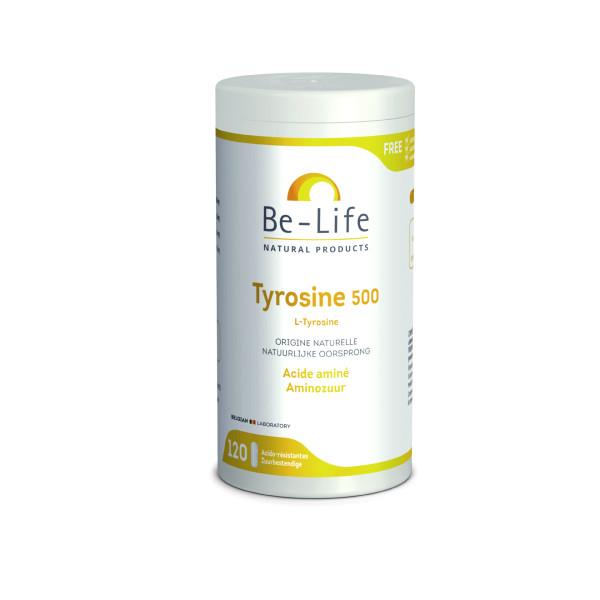 L-Tyrosine 500 120 gélules - Be-Life