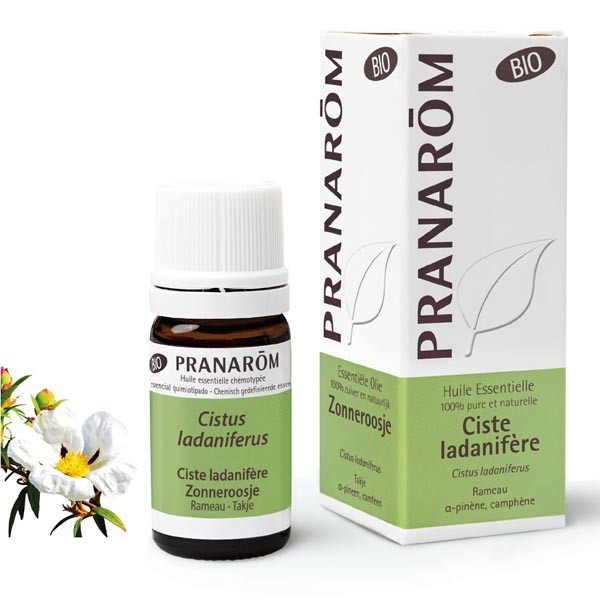 Huile Essentielle - Ciste ladanifere 5 ml BIO - Pranarôm