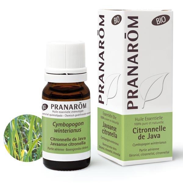 Huile Essentielle - Citronnelle de Java 10 ml Huile essentielle Bio - Pranarôm