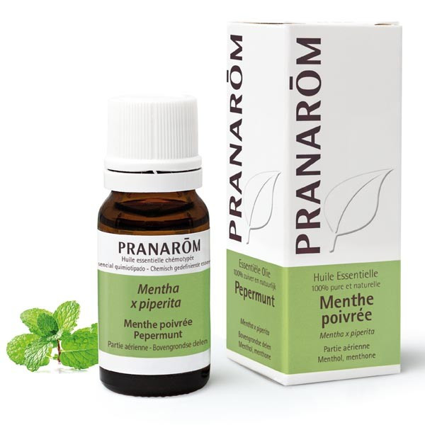 Huile essentielle - Menthe poivrée 10 ml - Pranarôm