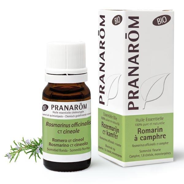 Huile essentielle - Romarin à Camphre Bio 10 ml - Pranarôm