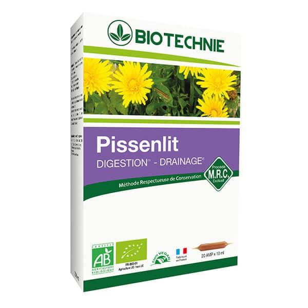 Pissenlit Extrait Bio 20 ampoules - Biotechnie