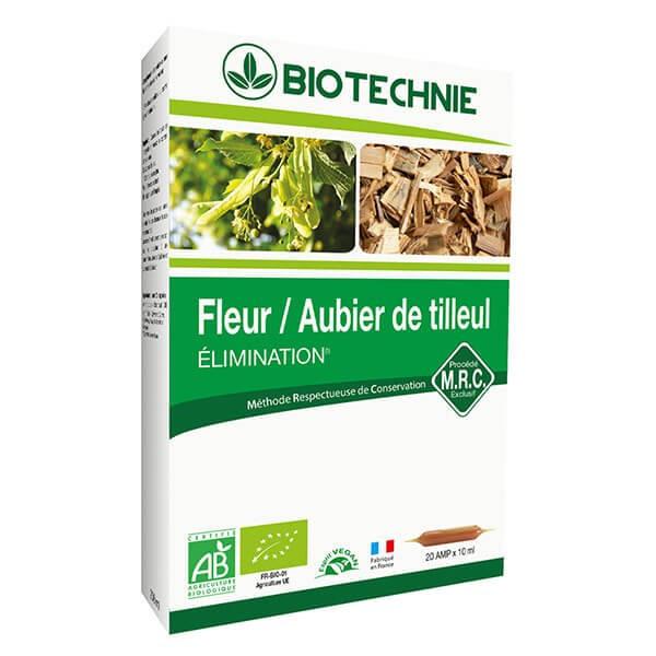 Aubier de Tilleul Bio 20 ampoules - Biotechnie