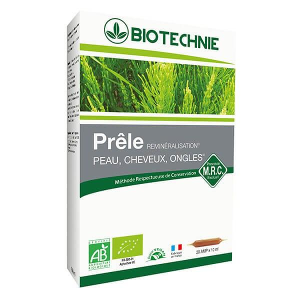 Prêle Bio 20 ampoules - Biotechnie