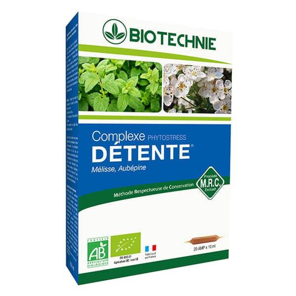 Phytostress Bio 20 ampoules - Biotechnie