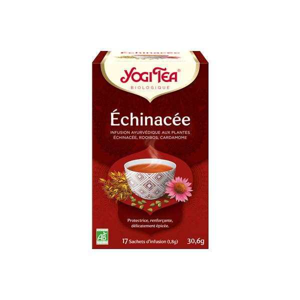 "Yogi Tea  "" Echinacea ""  Bio 17 sachets - Thé Ayurvedic"