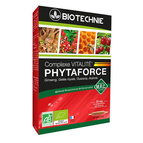 Phytaforce Bio 20 ampoules - Biotechnie