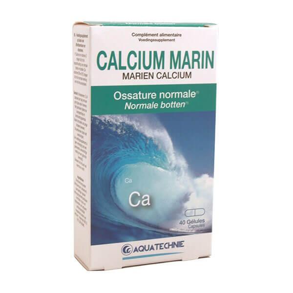 Calcium Marin 40 gélules - Biotechnie