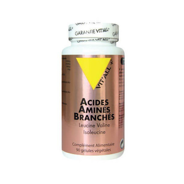 Acides aminés branchés 90 gélules- Vit'all+