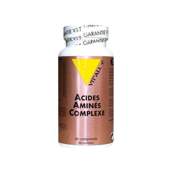Acides aminés complexe 60 comprimés - Vit'all+