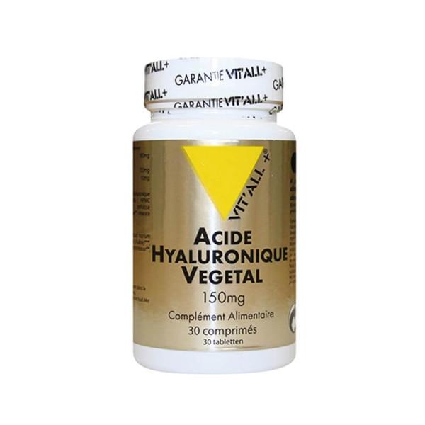 Acide Hyaluronique vegetal 150 mg 30 comprimés - Vit'all+
