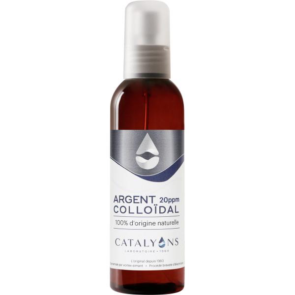 Argent Colloïdal 20 ppm - Vertus Antiseptiques - vaporisateur 150 ml - Catalyons