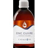 Zinc - Cuivre oligo-élément ionisé 500 ml - Catalyons