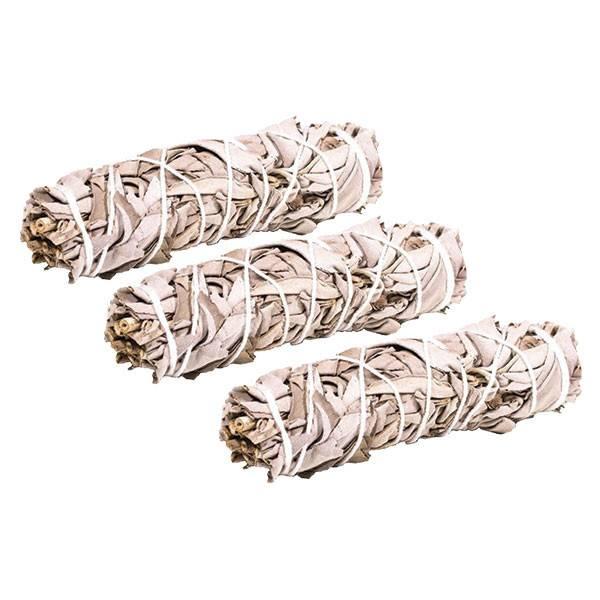 Bâton de fumigation - Sauge blanche (Salvia apiana) +/- 30 gr - Pack 3 pièces