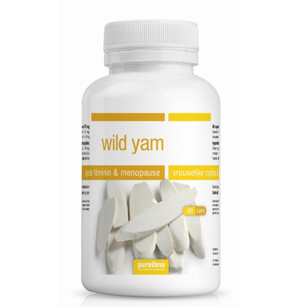 Wild Yam 80 caps Bio - Purasana