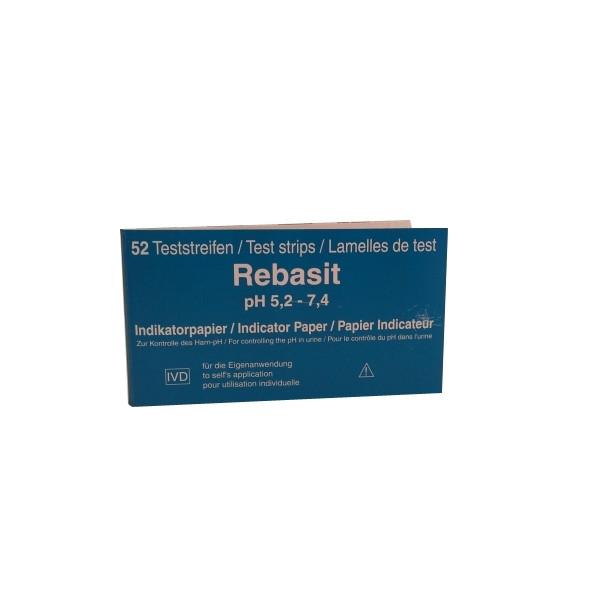 "Test Ph Urinaire ""Rebasit"""